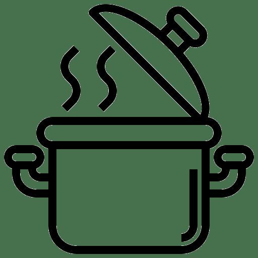 Pictogramme casserole
