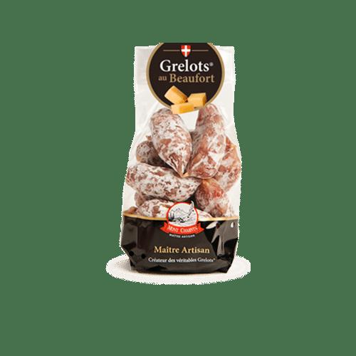 """Sachet de saucissons """"Les Exclusifs de Mont Charvin"""" : Grelots® au Beaufort"""