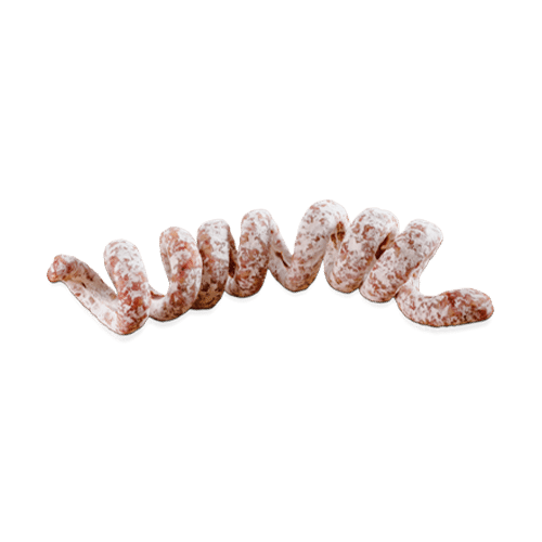 Les tortillettes des Alpes, saucisson en spirale
