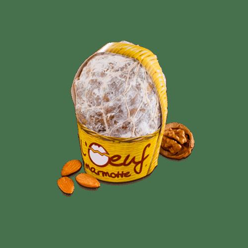 Saucisson en forme d'oeuf de marmotte